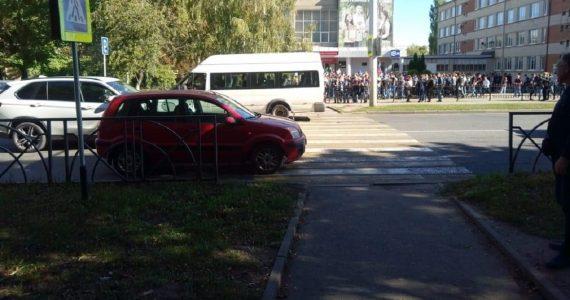 Несовершеннолетний студент колледжа получил ушиб стопы после ДТП в Ставрополе
