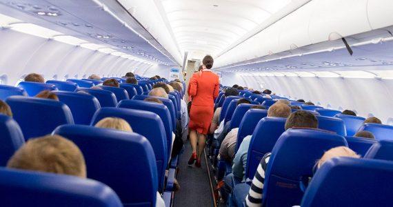 Ставрополец устроил дебош на борту самолёта Новосибирск – Минводы