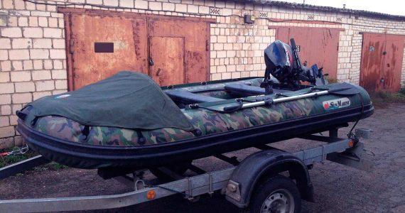 Грабители вынесли с участка ставропольца лодку с мотором