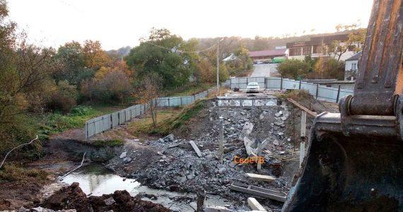 Мост в посёлке Юца возведут до конца 2018 года