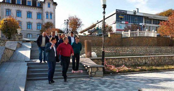 Губернатор Ставропольского края порекомендовал установить интерактивные экраны на фасад железноводского ДК