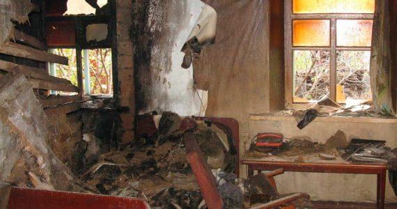 В Апанасенковском районе во время пожара погиб мужчина