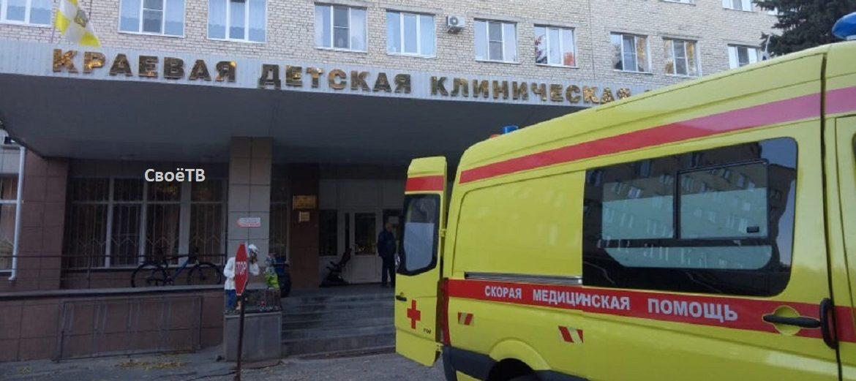 Пятый ребёнок, пострадавший в Солнечнодольске, задышал самостоятельно