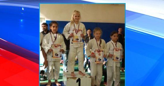 «Золото» турнира по дзюдо завоевала 8-летняя железноводчанка