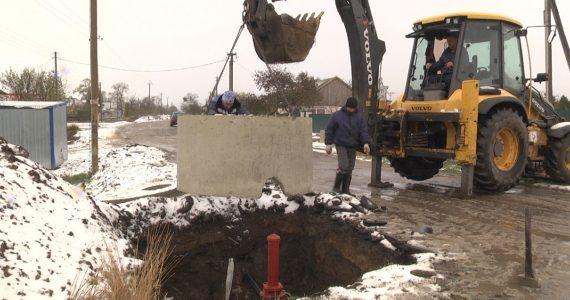 Морозы на Ставрополье не помешали работам по укладке водовода