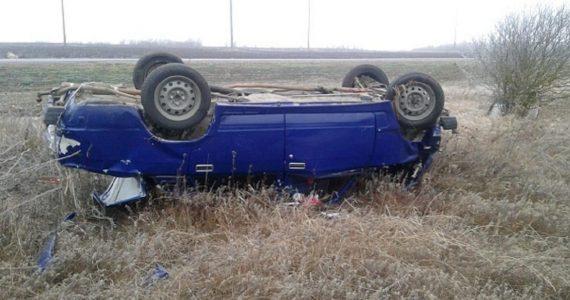 Перелом таза получила девушка после аварии под Курсавкой