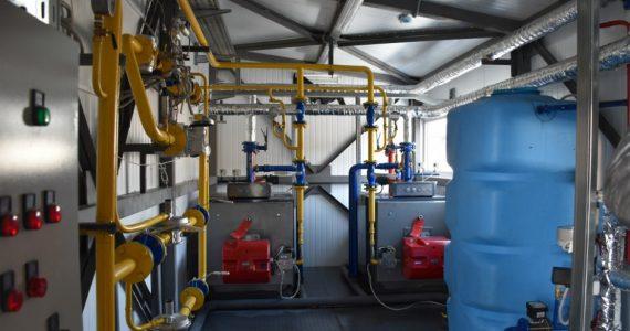 В Привольном готовятся запустить новую газовую котельную