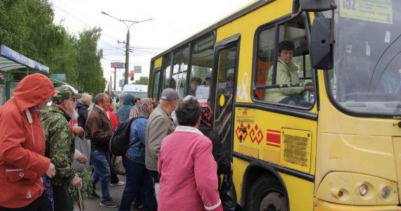 Дачные автобусы Ставрополя уехали на каникулы