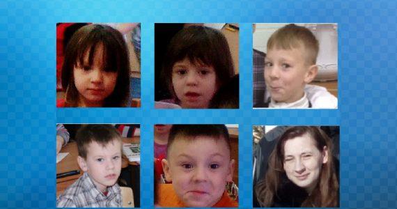 Мать с пятью детьми из Карелии разыскивают в Ставропольском крае