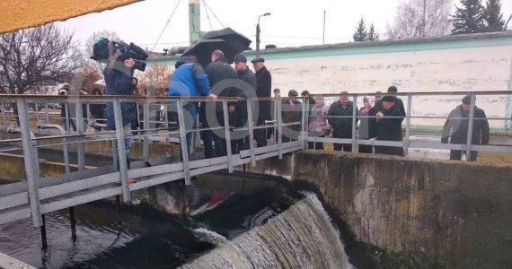 Депутаты осмотрели очистные гидросооружения КавМинВод