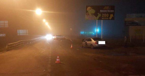 Трое пострадали в аварии на трассе Пятигорска