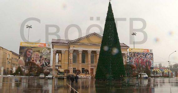 Новогодняя ярмарка и резиденция Деда Мороза откроются в Ставрополе