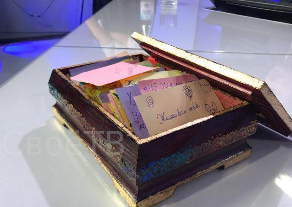 Школьник подарил губернатору Ставрополья шкатулку пожеланий