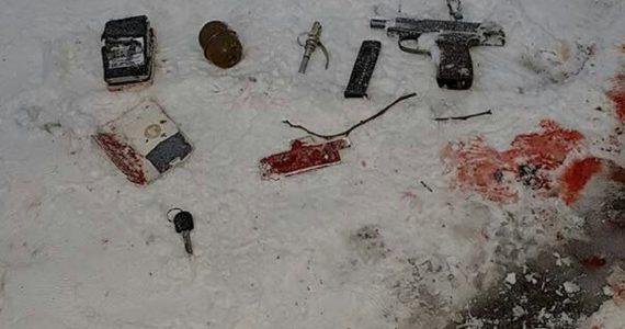 Появились фото с места ликвидации боевиков ИГ* в Ставрополе