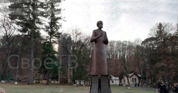 Памятник Солженицыну авторства Церетели открыли в Кисловодске