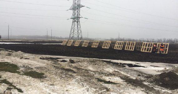 В Ставропольском крае устанавливают снегозащитные ограждения