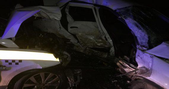 22-летний пассажир иномарки погиб в ДТП на Ставрополье